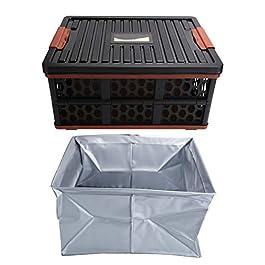 JYLSYMJa Boîte Pliable, bac de Rangement Utilitaire Pliant extérieur, Table de caisses à usages Multiples, conteneur de…