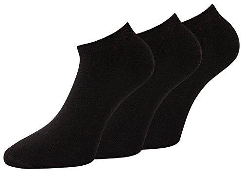 Damen Sneaker Socken schwarz weiß Sneaker Socken Damen ohne Naht, 6 Paar (39-42, 6 Paar schwarz nicht Prime)