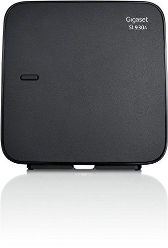 Gigaset SL930A / SL 930 A DECT Ersatz Basisstation analog mit Anrufbeantworter schwarz