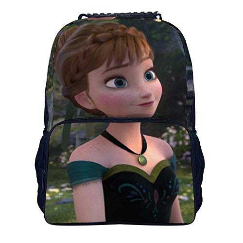 Kids School Backpack 15.7 inches Anna Elsa Olaf Frozen Fever College Computer Backpack Casual Daypack for Girls Boys Elementary School Bookbag