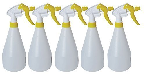 5x Complete Pack Of 750ml Yellow...