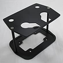 Billet Aluminum Optima Battery Tray (Group 34/78) - Textured Black Powder Coat - SMOOTH TOP TRAY