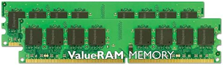 Kingston Technology ValueRAM DDR2 667MHz 4GB-Kit módulo de - Memoria (4 GB, 2 x 2 GB, DDR2, 667 MHz)
