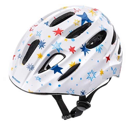 Casco Bicicleta Bebe Helmet Bici Ciclismo para Niño - Cascos para Infantil Bici Helmet para Patinete Ciclismo Montaña BMX Carretera Skate Patines monopatines KS01 (S 48-52 cm, Little Stars)