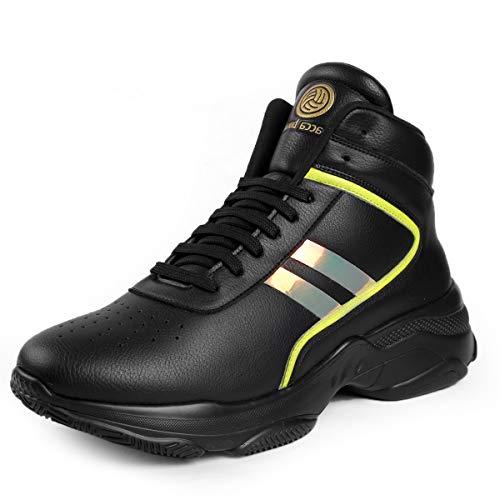 Bacca Bucci Men's Black Sneaker - 7 UK