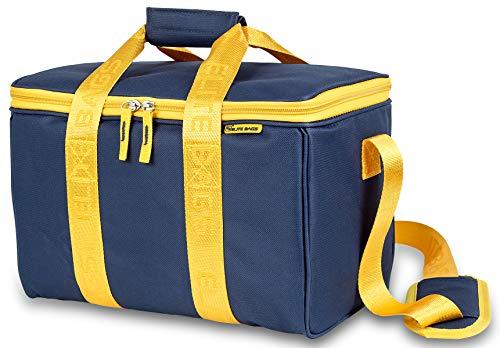 Botiquín de primeros auxilios MULTY'S | Elite Bags | Color: azul y amarillo | Maletín multiusos | 34 x 21 x 20 cm ⭐