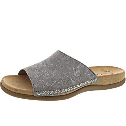 Gabor Damen Pantoletten grau 682575