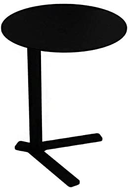 Coffee Table, Nordic Simple Wrought Iron Coffee Table, Small Round Table for Home Living Room Storage, Creative Office Sofa S