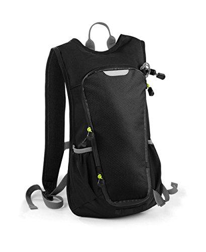 Quadra Apex Hydration Rucksack/Sportrucksack, ideal zum Radfahren (Einheitsgröße) (Schwarz)