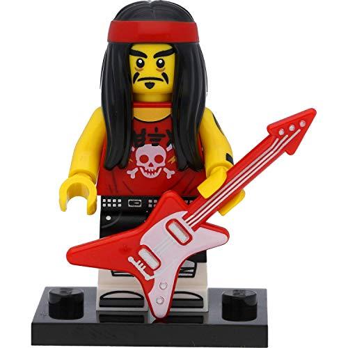 LEGO Ninjago - Minifigura de Gong y guitarra Rocker con accesorios (figura coleccionable de Ninjago Movie de coleccionista)