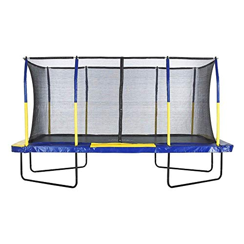 Upper Bounce 9 x 15 FT Rectangle Trampoline with Premium Top-Ring...