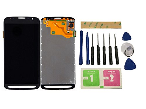 Flügel para Samsung Galaxy S4 Active GT-I9295 i9295 Pantalla LCD pantalla Negro Táctil digitalizador Asamblea Pantalla ( sin marco ) de Recambio & Herramientas