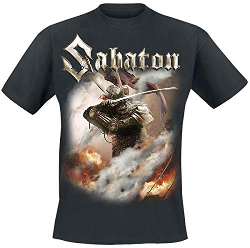 Sabaton Shiroyama Männer T-Shirt schwarz L 100% Baumwolle Band-Merch, Bands