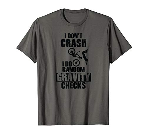 Crash Gravity Checks Mountain Bike T-Shirt