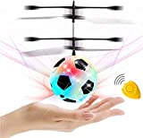 GreaSmart Flying Ball, Kids Soccer Toys Hand Control Helicopter Mini Infrared Induction Drone Magic RC Flying Light Up Toys Indoor and Outdoor Games Fun Gadgets for Boys Girls Kids Holiday Toy List