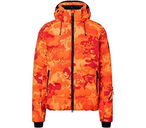 Bogner Fire + Ice Mens Lasse3 Orange, Herren Isolationsjacke, Größe 52 - Farbe Vibrant Orange