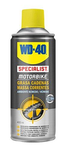 WD-40 34788 Specialist Motorbike - Grasa de Cadenas Ambiente Húmedo- Spray 400ml