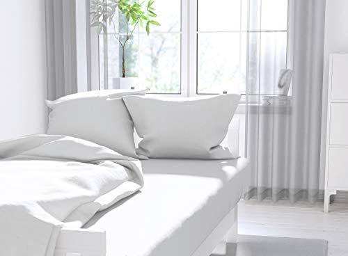 Calvin Klein Signature Sateen Sheet Set, Queen Size, White Color