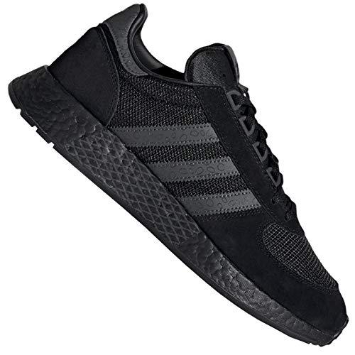 adidas Originals Marathon Tech - Zapatillas deportivas para hombre, color negro, color Negro, talla 45 EU