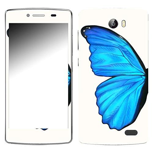 DISAGU SF-107180_1271 Design Skin für TP-Link Neffos C5 - Motiv Blauer Schmetterling