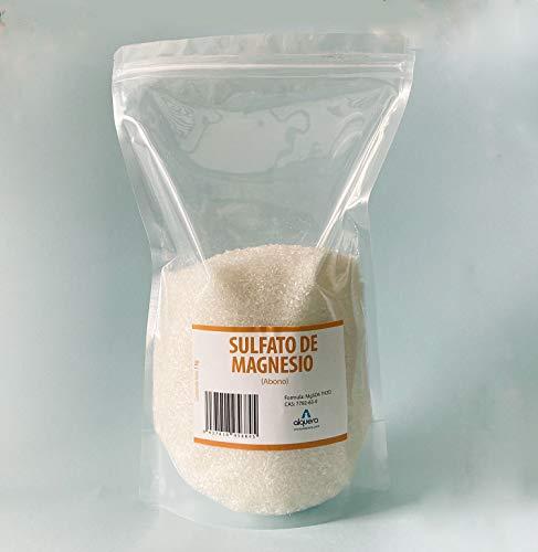 Sulfato de Magnesio Heptahidratado (Abono) (1Kg)