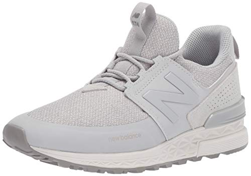 New Balance Women's Fresh Foam 574 Sport V1 Sneaker, Rain Cloud/Rain Cloud, 8.5 B US