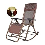 Heavy Duty Patio Rocker <span class='highlight'>Folding</span> <span class='highlight'>Rocking</span> <span class='highlight'>Chair</span>, <span class='highlight'>Portable</span> <span class='highlight'>Chair</span> <span class='highlight'>For</span> Outdoor <span class='highlight'>Garden</span> Deck Lawn, Best Gift <span class='highlight'>For</span> Gr<span class='highlight'>and</span>parents, Support 200Kg (Color : Black) A