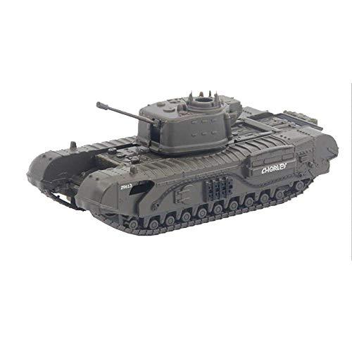 LHJCN Modello di carro Armato in Metallo pressofuso in Scala 1/72, carro Armato di Fanteria Churchill Regno Unito, Giocattoli e Regali Militari, 4,1 Pollici x 1,8 Pollici