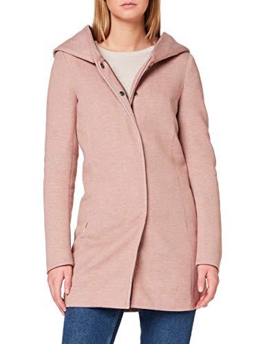 ONLY Damen Onlsedona Light Coat Otw Noos Mantel, Braun (Mocha Mousse Detail:melange), XXL EU