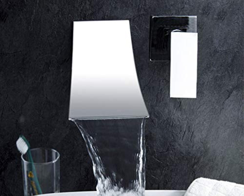 CZOOR Becken Wasserhahn Becken Mischbatterien Wasserfall Bad Mischbatterien Duscharmaturen Badewasser Wandarmaturen Wasserhhne