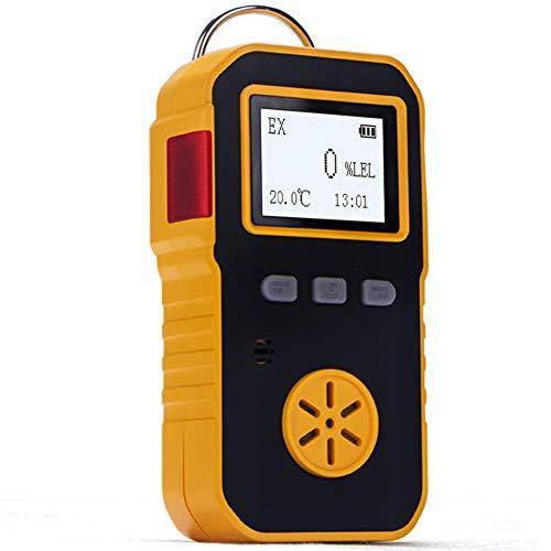 BOSEAN可燃性ガス EX 測定器 検出器 検知器 ガス/メタンCH4/エタンC2H6/プロパンなどを検知 音 光 振動アラーム IP65 高精度 携帯用 USB充電 日本語切り替え可能