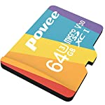 64GB Micro SD Card with Adapter,U3 MicroSDXC Card for Nintendo Switch, V30 Memory Card for Gopro Hero 7 Hero 8 Android… 13 U3 V30 High Speed: Read speed up to 100MB/s, write speed>35MB/s. High transfer speed will save your time of the data transferring.( Actual test speed base on USB3.0 card reader in USB3.0 Port, for devices that don't support UHS-I or USB2.0 port, the transmission speed will be different due to interface limitations.) Great Value for Nintendo Switch! Also great value for action camera like Gopro hero 7 hero 8 black,Yi, DJI Mavic Air Mavic Pro Series Phantom 4 Pro Phantom 4 Pro V2.0 Phantom 4 Advanced and other Drones. Good for 4K UHD video recording and high quality pictures. Good performance for use in Android Smartphones,Drones,Tablets, Action Cameras, Digital Cameras, Dash Cam, DSLRs and more. COMPATIBILE with most of the smart phone like Samsung Galaxy S10 S10+ S10e S9 S8 S7 A9 A6 A6+ Note 9 8 Tab S4 S3 J3; LG K30 G7 Q7 Q Stylus V40 V35; Sony Xperia XZ2 Premium Compact L2 XA2 Ultra Plus XZ1 L1 XZ; Amazon Fire 7 Fire HD 8 Fire HD 10; Moto E5,E6,G6,G7,Z3,Z4,Moto One