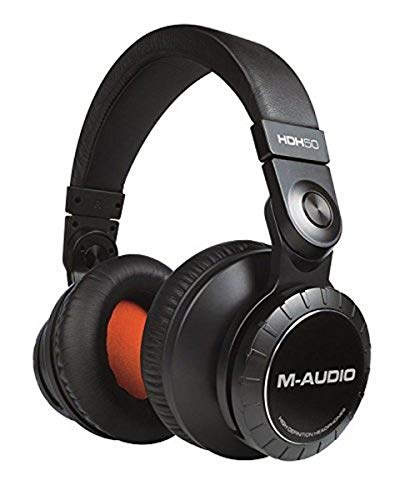 M-Audio HDH50 Professional, Premium High Definition Studio-Grade Headphones with Powerful 50 mm Drivers for an Immersive Audio Experience