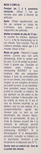 Shampoing Antipelliculaire Nizoral Ketoconazole, 120ml - 4