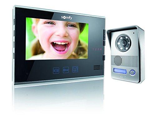 Somfy, V400, Kit Videoportero, negro