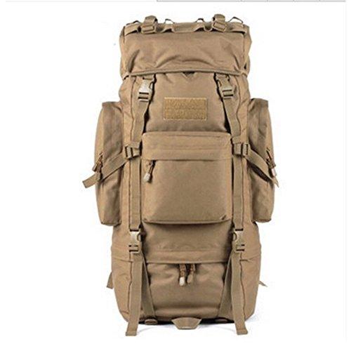 Outdoor viaggio zaino 100L alpinismo sacchetti spalla alta-Capacità Pacchetto femmina maschio impermeabile borsa da viaggio