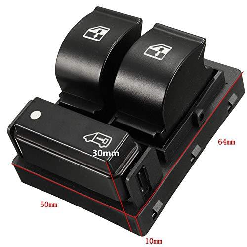 Love TT 3 Bottons Régulateur de fenêtre Avant Droit et Interrupteur électrique Commande Principale 735421419 pour Doblo Ducato 263