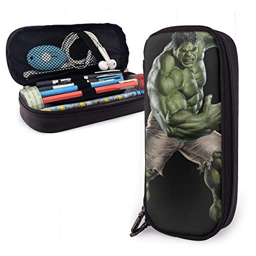 IUBBKI Pencil Case Hulk Big Capacity Pencil Bag Makeup Pen Pouch Stationery with Double Zipper Pen Holder for School/Office