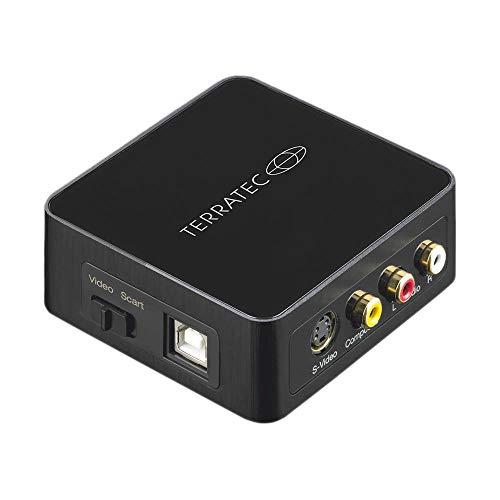 TerraTec G4 SCART Audio/Video Konverter - Digitalisieren und bearbeiten Sie Videos von jeder analogen Quelle einschließlich VCR VHS DVD, 290987