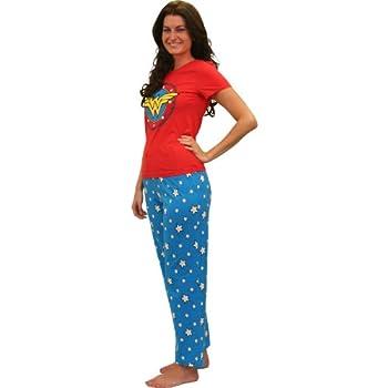wonder woman pajamas adult