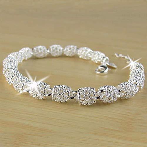 BAISHIU Silber Armband Armreif Damenschmuck