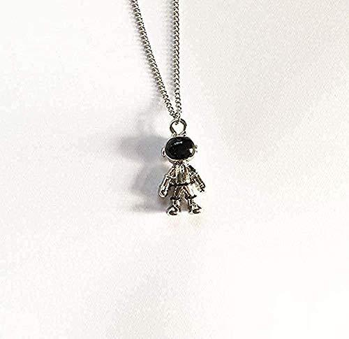 NC188 Necklace Unique Design Necklace Astronaut Robot Pendant Necklace Personality Universe Astronaut for Women Party Jewelry Gift