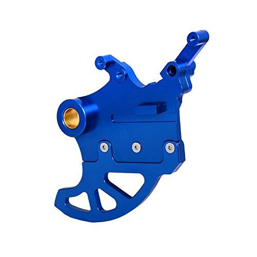 Gzcfesbn Motorradbremsscheibe Guard Protector für Yamaha WR250 WR250F WR250R WR250X WR450X YZ125 YZ250 YZ250F YZ250FX YZ450F Durable (Color : Blue)