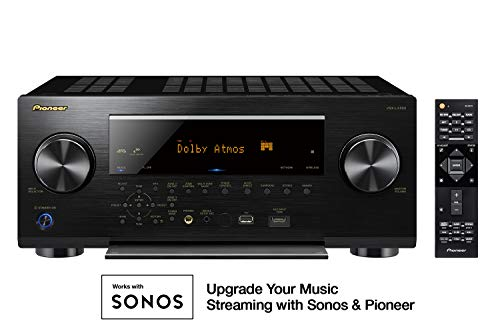 Pioneer VSX-LX503 9.2 Channel 4k UltraHD Network A/V Receiver Black