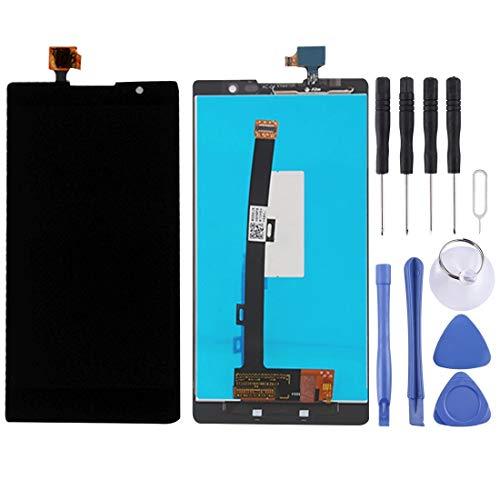 HUAAT -LCD Screen and Digitizer Full Assembly for Lenovo K80 / K80M (Black) DIY (Color : Black)