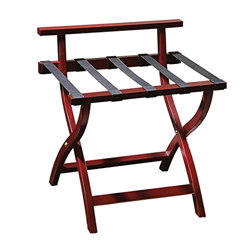Fantastic Deal! Folding Luggage Rack Folding Professional Hotel Luggage Rack, Suitcase Support Trave...