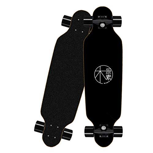 B&H-ERX Pro Skateboards, Für Anfänger Starter Für Kinder Jungen Mädchen Teenager Teenager-Alter Standard-Skateboards, Longboard Skate Boards Können 300Kg Gewicht Tragen,H,80 * 20 * 10CM