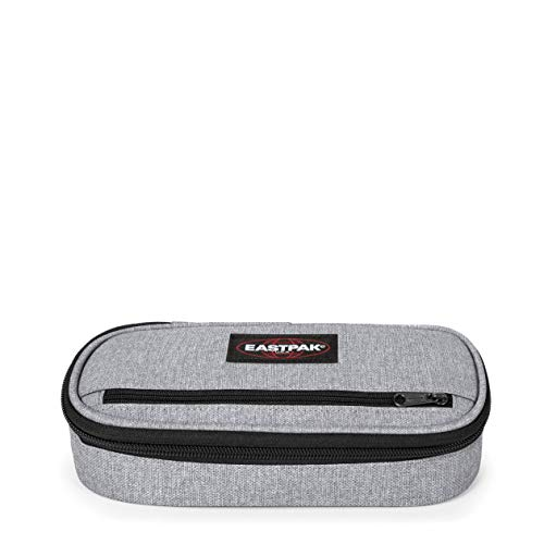 Eastpak Oval Zippl'r Federmäppchen, 22 cm, Grau (Sunday Grey)