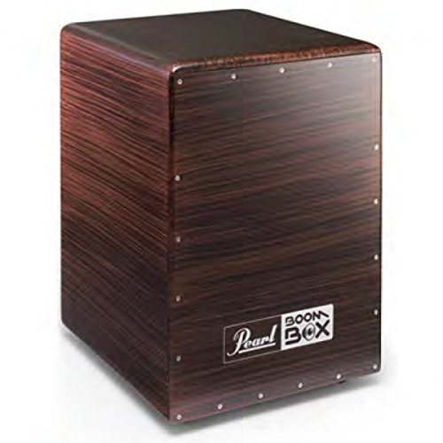 Pearl Cajon BOOM BOX Fiberglas portiert Kammer, Burgunder-Mix - 633BB.643 PCJ lackiert