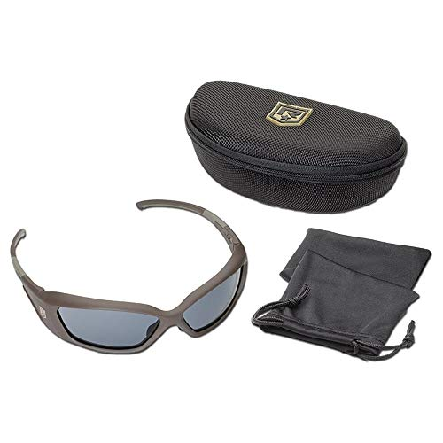 Revision Brille Hellfly Taupe / Smoke